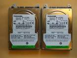 Два жорстких диска TOSHIBA MK1234GSX по - 120 Гб (два одним лотом) photo 1