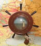 Щтурвал Светильник Ночник Маяк СССР 60-е Рабочий Odessa Ocean Line, фото №2