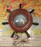 Щтурвал Светильник Ночник Маяк СССР 60-е Рабочий Odessa Ocean Line, фото №3
