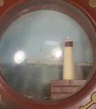 Щтурвал Светильник Ночник Маяк СССР 60-е Рабочий Odessa Ocean Line, фото №4