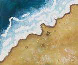 Берег моря (картина масло/холст)