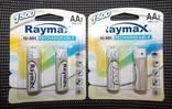 Аккумуляторы Raymax AA 1500 4 шт photo 1