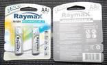 Аккумуляторы Raymax AA 1500 4 шт photo 3