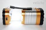 Фонарик (Power Bank, солнечная батарея) аккумуляторный туристический YD-3587 photo 4