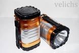 Фонарик (Power Bank, солнечная батарея) аккумуляторный туристический YD-3587 photo 5