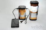 Фонарик (Power Bank, солнечная батарея) аккумуляторный туристический YD-3587 photo 6