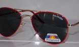 Солнцезащитные детские очки Aviator Polaroid photo 1