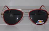 Солнцезащитные детские очки Aviator Polaroid photo 2