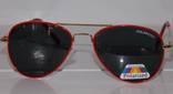Солнцезащитные детские очки Aviator Polaroid photo 3