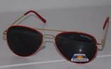 Солнцезащитные детские очки Aviator Polaroid photo 4
