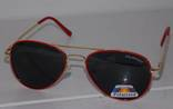 Солнцезащитные детские очки Aviator Polaroid photo 6