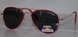 Солнцезащитные детские очки Aviator Polaroid photo 7