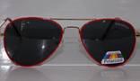 Солнцезащитные детские очки Aviator Polaroid photo 9