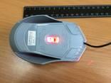 Мышь USB для ноутбука/компа Белая с меняющейся подсветкой. Новое. photo 6