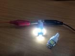 LED габаритные огни в авто в лоте 2шт.