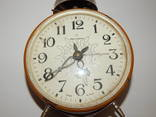 Часы будильник ссср янтарь 7857 photo 2