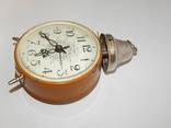 Часы будильник ссср янтарь 7857 photo 3