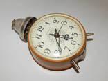 Часы будильник ссср янтарь 7857 photo 4