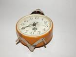 Часы будильник ссср янтарь 7857 photo 5