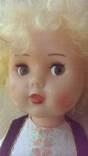 Кукла ссср, большая, на резинках, глаза смотрят вправо, лево photo 2