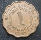 Британский Гондурас 1 цент 1971