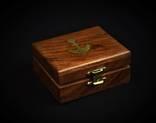 Деревянный футляр для карманных часов