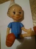 Кукла СССР, на резинках.34см.клеймо