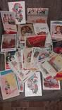 Много разных старых открыток ссср