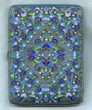 Портсигар 84 пр с эмалями photo 1