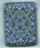 Портсигар 84 пр с эмалями photo 2