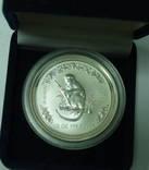 50-центов Год обезьяны Серебро