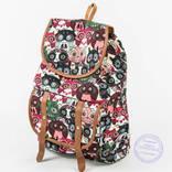Рюкзак для девочки с совами - розовый - 161