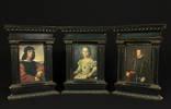 Старые Портреты.Винтаж.Аньоло Дони.Принцесса Биа Медичи.Испанский король Филипп II.Европа.