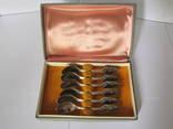 Ложки кофейные 6 шт. серебро 916 проба 80 грамм