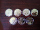 Монеты Украины 7 штук