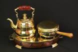 Заварник и кашеварка на горелке. Bergner. Европа. (00925)