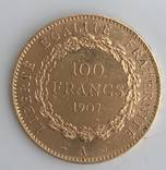 100 FRANGS 1907