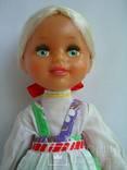 Кукла СССР Ленигрушка 32см паричковая