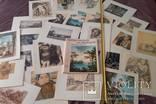 Акварели и рисунки 1972г. 24 репродукции. Очень плотный и качественный картон