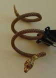 Кольцо.Змея. золото 56 пробы photo 1