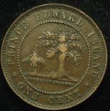 Остров принца Эдварда 1 цент 1871