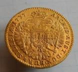 Дукат 1737 г.