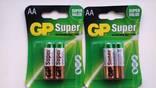Батарейка GP 2 упаковки АА