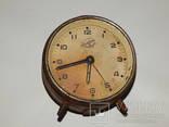 Часы будильник 3-й московский часовой завод 6836 photo 1