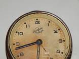 Часы будильник 3-й московский часовой завод 6836 photo 2