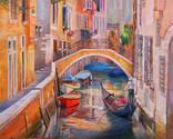 Венеция. 80Х100.