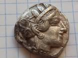 Тетрадрахма Афины