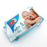 Салфетки влажные детские LILI 2 упаковки в лоте.
