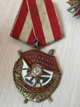 Комплект наград орден ленина бкз ов 1 и 2 ст боевой и другие photo 5