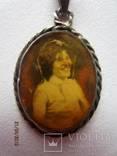 Медальон с Оригинальным фото,серебро 800 photo 2